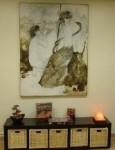 Art in the Eve's Garden Living Room