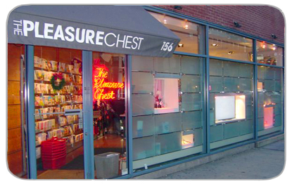 The Pleasure Chest NY, NY- Superhero Sex Shop