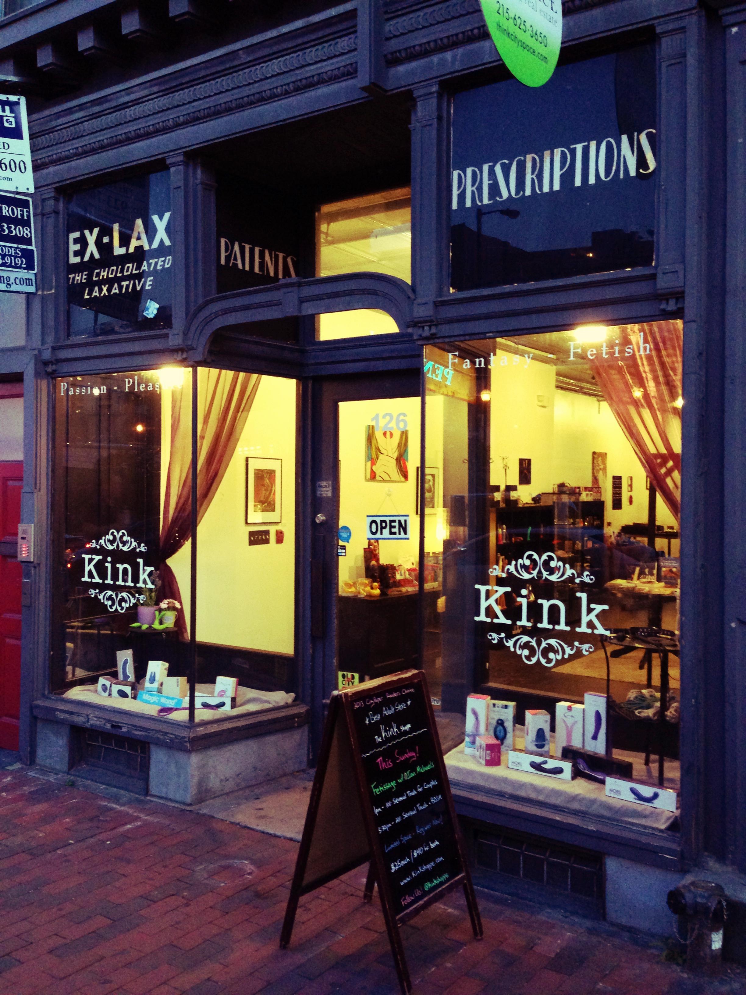 kink shoppe philadelphia