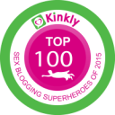 Thanks For Making Me A Kinkly Sex Blogging Superhero!