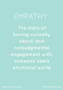 Empathy Favorite Things